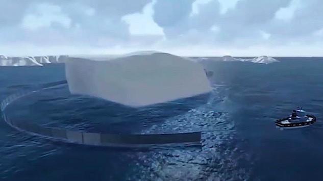 Triệu phú kéo cả núi băng từ Nam Cực về làm đồ uống - Ảnh 2.