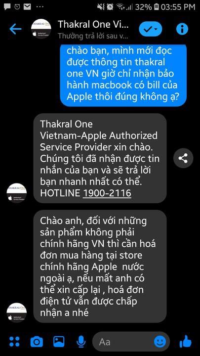 Nóng: Trung tâm ủy quyền Apple tại Việt Nam chỉ nhận bảo hành thiết bị có hóa đơn mua chính hãng - Ảnh 1.