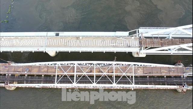 Bay trên cao ngắm cây cầu sắt 117 năm tuổi ở Sài Gòn sắp tháo dỡ - Ảnh 5.