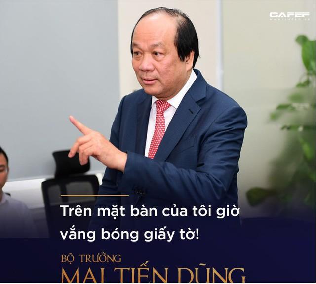 Bộ trưởng Mai Tiến Dũng: Làm chính phủ điện tử, điều quan trọng nhất là phải dám vứt bỏ quyền lợi! - Ảnh 2.