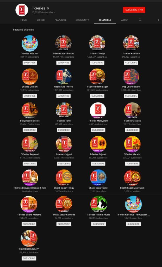 """t- series, youtube - photo 1 15662756266691457020165 - Là kênh Youtube của người Ấn, chỉ đăng video tiếng Hindi, T-Series làm gì để trở thành kênh có lượt đăng ký lớn nhất thế giới, vượt mặt """"ông hoàng Youtube"""" PewDiePie?"""