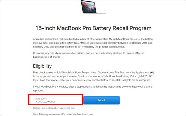 Hướng dẫn kiểm tra chính xác Macbook Pro có dính lỗi nổ pin và bị cấm bay hay không - Ảnh 3.