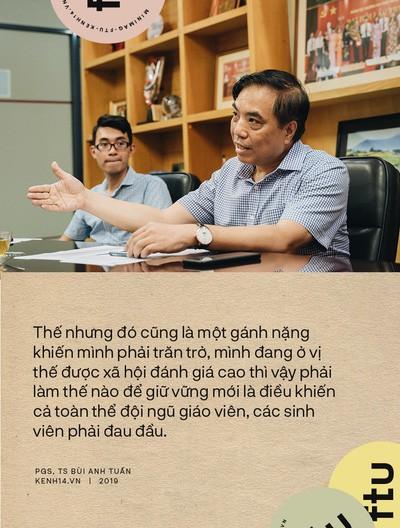 """Hiệu trưởng ĐH Ngoại thương: Tự hào là """"Harvard Việt Nam"""", sinh viên tốt nghiệp có quyền được đòi hỏi mức lương cao, xứng đáng - Ảnh 1."""