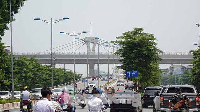 Hình hài đường sắt Nhổn - Ga Hà Nội sau 2 năm chậm tiến độ - Ảnh 12.