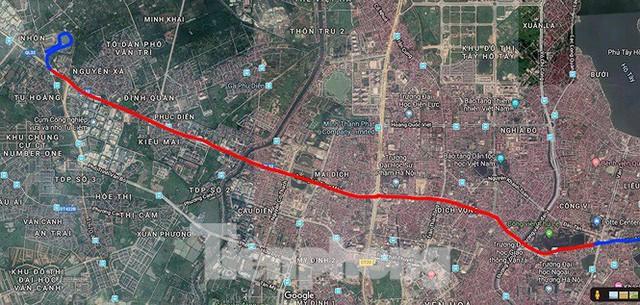 Hình hài đường sắt Nhổn - Ga Hà Nội sau 2 năm chậm tiến độ - Ảnh 19.