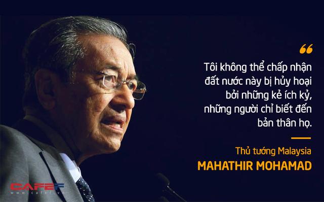 10 phát ngôn truyền cảm hứng của vị Thủ tướng huyền thoại 94 tuổi Mahathir Mohamad - Ảnh 5.