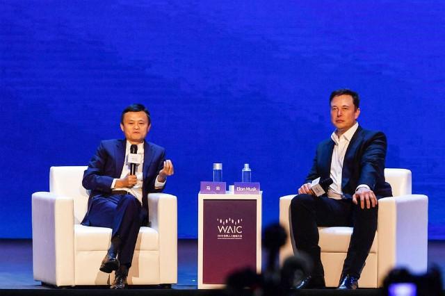Jack Ma, Elon Musk tranh luận tay đôi tại Trung Quốc - Ảnh 1.