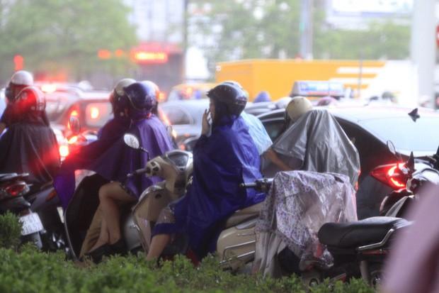 Cây xanh đổ khắp Hà Nội do ảnh hưởng của bão số 4, một thanh niên 26 tuổi tử vong thương tâm - Ảnh 20.