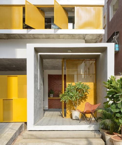 """Ngôi nhà gần gũi với thiên nhiên nhờ có """"vườn đặt trong nhà"""" - Ảnh 2."""