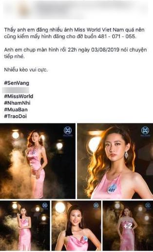 Vừa đăng quang Hoa hậu, Lương Thùy Linh đã dính tin đồn mua giải từ một bài tố cáo đáng nghi vấn trên mạng xã hội - Ảnh 2.