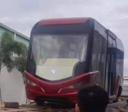 vinfast - photo 1 15652343344921460905623 - Lộ diện mẫu xe buýt được cho là của VinFast