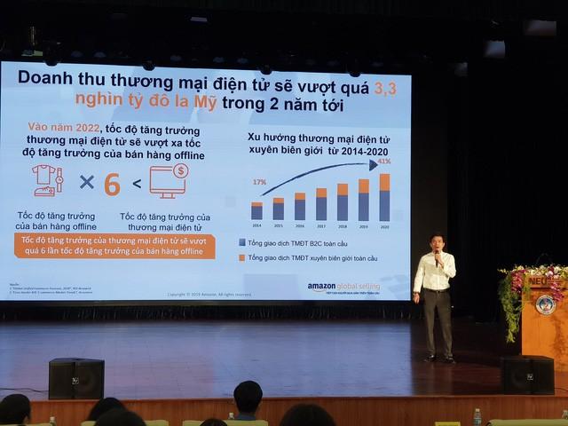 CEO Amazon Global Selling Việt Nam: Chổi đót còn bán được 13 USD, Doanh nghiệp Việt Nam chỉ cần tập trung phát triển sản phẩm, toàn bộ quy trình xử lý đơn hàng Amazon lo  - Ảnh 2.