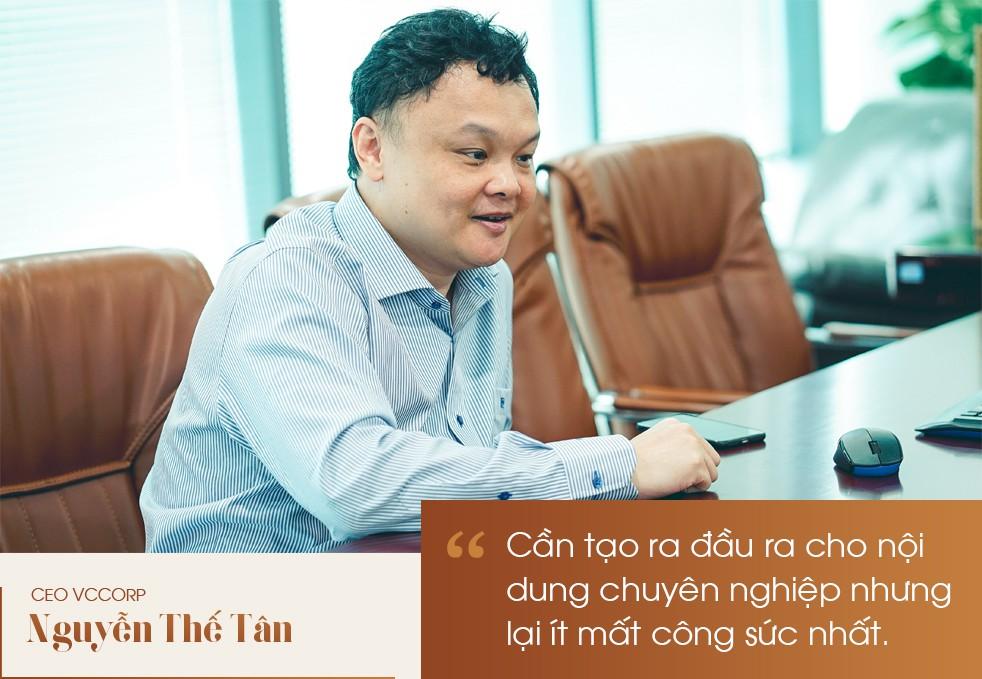 CEO Nguyễn Thế Tân: Mạng xã hội Lotus là cuộc chơi tất tay của VCCorp - Ảnh 3.