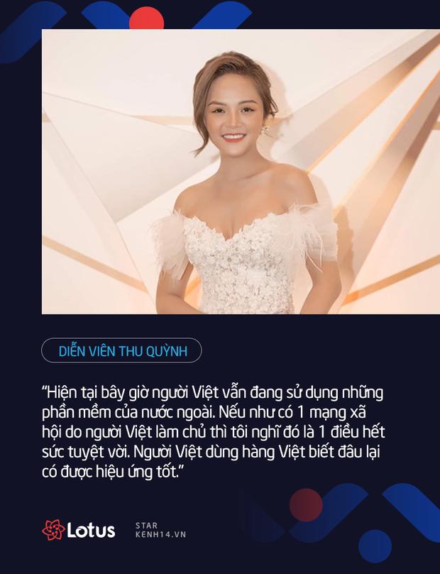 Dàn sao Việt nói gì trước thềm ra mắt MXH Lotus: HHen Niê muốn lan tỏa những điều tích cực, Chi Pu, Ninh Dương Lan Ngọc đặt niềm tin vào sản phẩm của người Việt - Ảnh 5.
