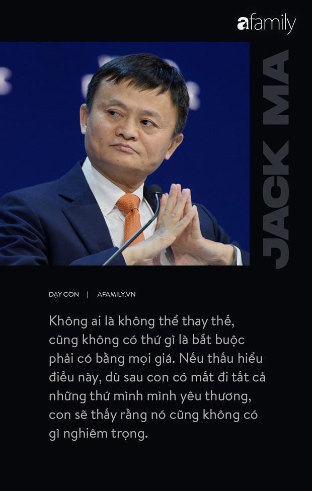 9 điều đáng giá ngàn vàng của tỉ phú Jack Ma dạy con, cha mẹ càng đọc càng thấy tâm đắc - Ảnh 1.