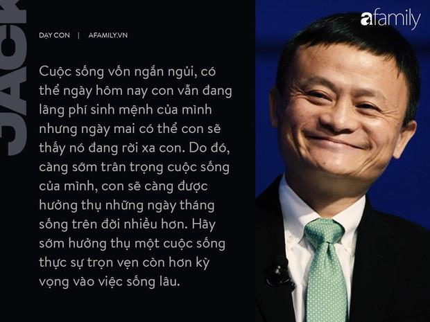 9 điều đáng giá ngàn vàng của tỉ phú Jack Ma dạy con, cha mẹ càng đọc càng thấy tâm đắc - Ảnh 3.