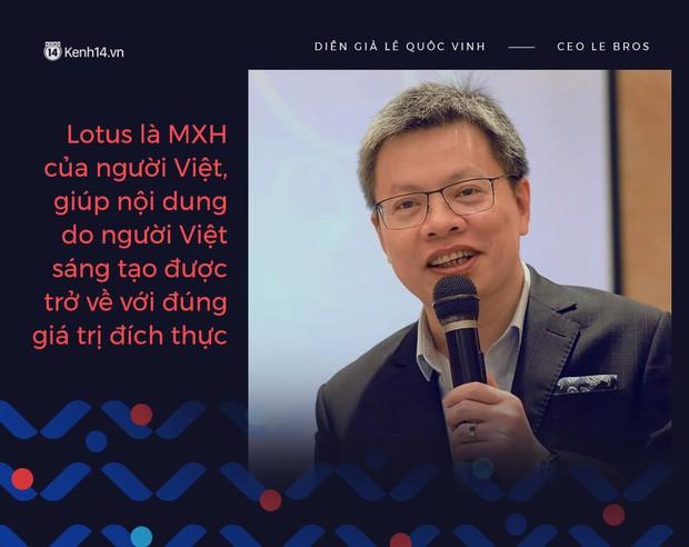 Doanh nhân, bác sĩ kỳ vọng về MXH make in Việt Nam: Lotus là sân chơi mới, sẽ giúp nội dung được trở về đúng giá trị đích thực - Ảnh 3.