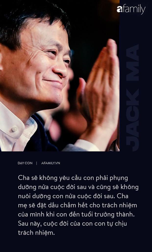 9 điều đáng giá ngàn vàng của tỉ phú Jack Ma dạy con, cha mẹ càng đọc càng thấy tâm đắc - Ảnh 6.