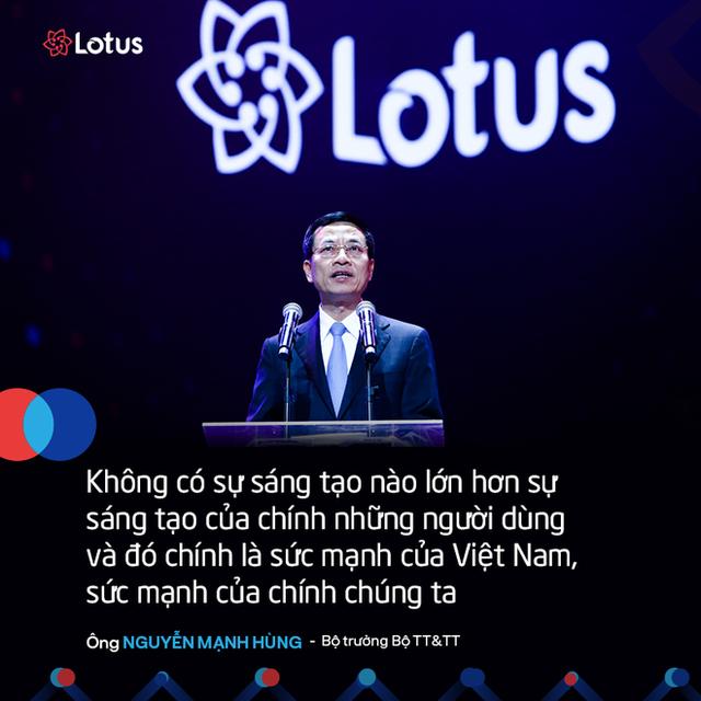 7 câu nói ấn tượng tại lễ ra mắt mạng xã hội Lotus - mạng xã hội của người Việt - Ảnh 1.