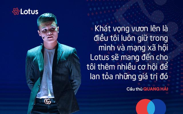 7 câu nói ấn tượng tại lễ ra mắt mạng xã hội Lotus - mạng xã hội của người Việt - Ảnh 3.