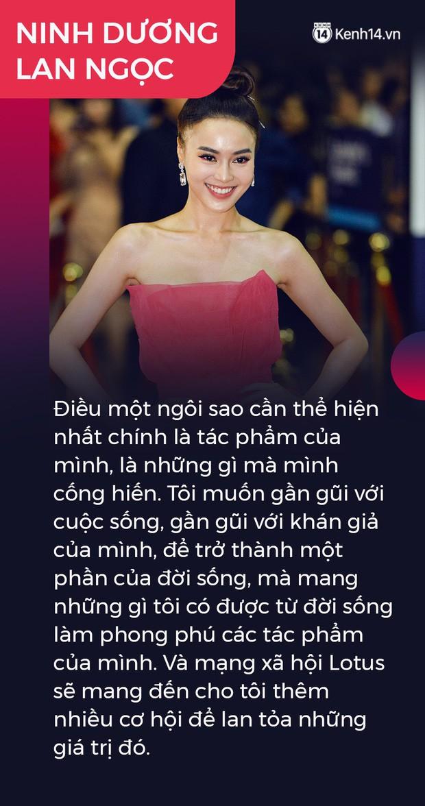 Ninh Dương Lan Ngọc, Quang Hải và nhà báo Mai Anh gây xúc động: Lotus sẽ mang đến cơ hội lan tỏa niềm tự hào giá trị Việt Nam - Ảnh 5.