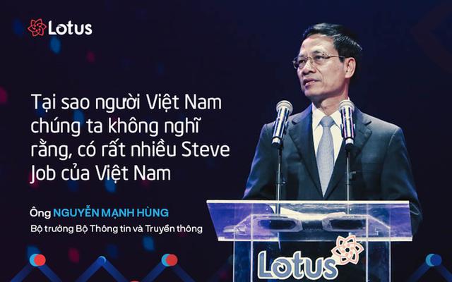 7 câu nói ấn tượng tại lễ ra mắt mạng xã hội Lotus - mạng xã hội của người Việt - Ảnh 5.