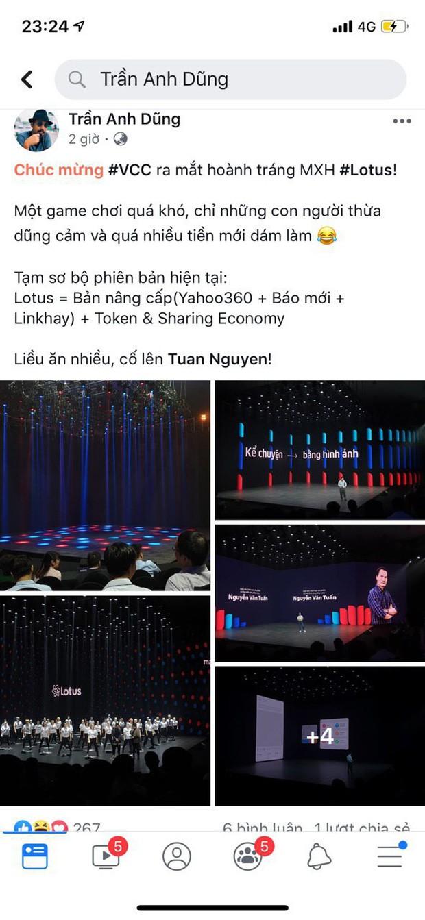 """Dân tình hào hứng sau đêm ra mắt MXH Lotus: """"Có thêm mạng xã hội nữa cũng tốt, có thêm nền tảng cho content sạch cũng tốt"""" - Ảnh 7."""