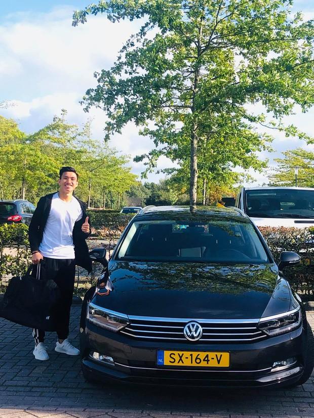 Đoàn văn hậu - photo 1 15687706319411705933688 - Đoàn Văn Hậu tươi tắn khi được cấp ô tô riêng tại Hà Lan