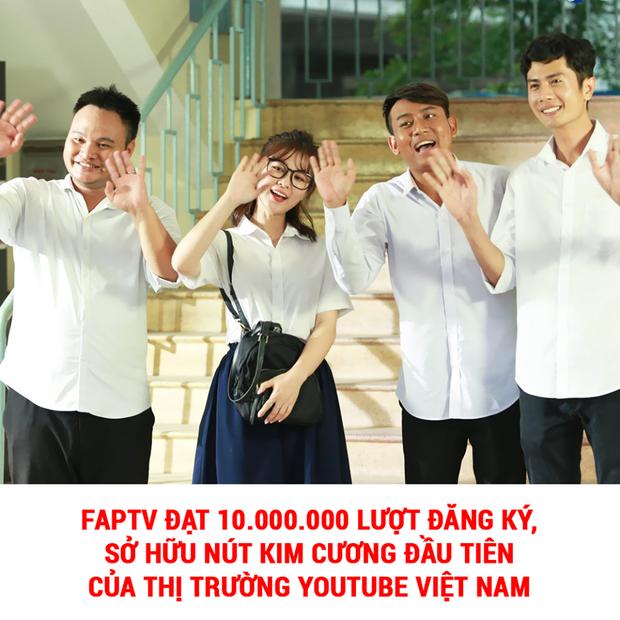 FAP TV: Từ ngày phát lương 50k/người mỗi tháng đến lúc thành viên nào cũng hot, trở thành nhóm hài đầu tiên của Việt Nam đạt nút kim cương Youtube - Ảnh 1.