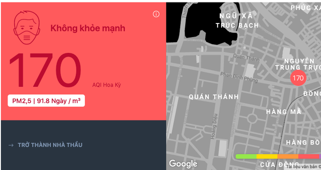 """Vì sao bụi mịn PM2.5 trong không khí Hà Nội là """"sát thủ thầm lặng?  - Ảnh 1."""