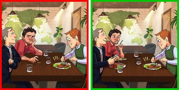 7 sai lầm rất nhiều người gặp khi đi ăn nhà hàng: Đọc ngay để tránh trở nên ngố trước mặt bàn dân thiên hạ - Ảnh 4.