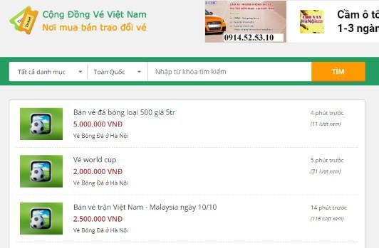 việt nam vs malaysia - photo 1 1568877784625331870745 - Vé trận Việt Nam vs Malaysia loạn giá, đã có người hô lên gấp… 10 lần