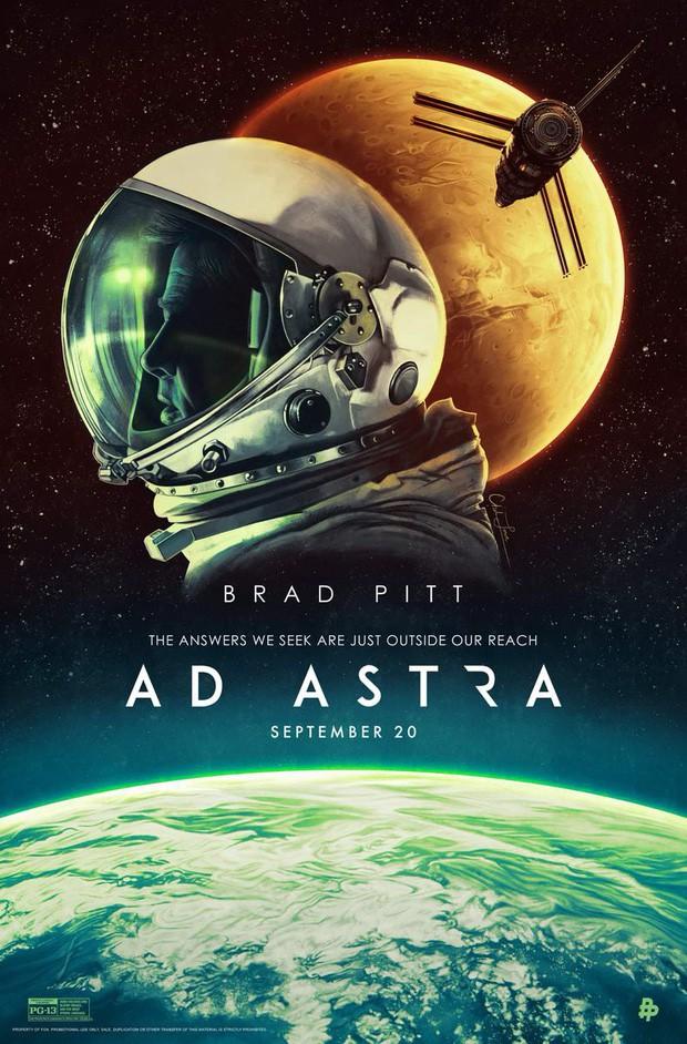 """""""Ad Astra"""": Hành trình đơn độc đến nghẹn ngào của Brad Pitt tới những vì sao - Ảnh 2."""