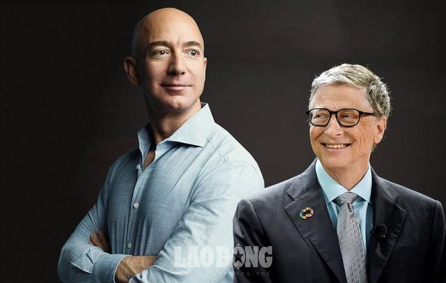 Bill Gates - tỉ phú duy nhất có thể soán ngôi giàu nhất của Jeff Bezos - Ảnh 7.