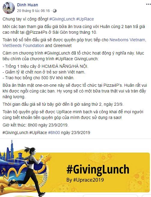 Học theo tỷ phú Warrent Buffet, nhiều doanh nhân Việt tham gia chương trình đấu giá bữa trưa vì mục đích xã hội - Ảnh 1.