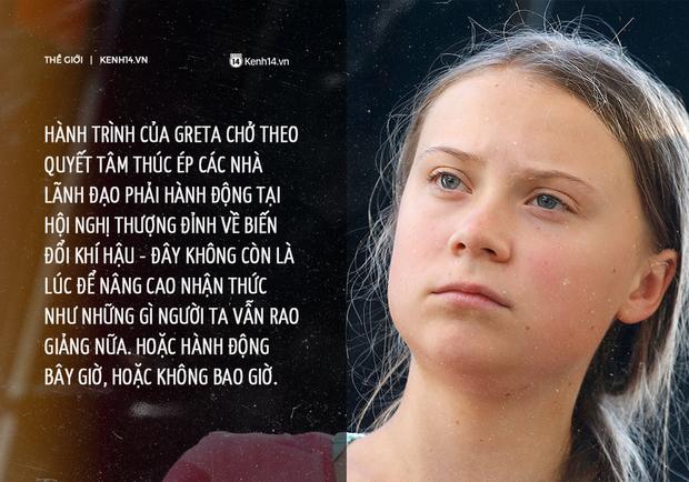 Chuyến hải trình băng Đại Tây Dương chở quyết tâm của Greta Thunberg: Chúng tôi sẽ không ngừng tranh đấu cho hành tinh này - Ảnh 3.