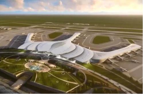 Sân bay Long Thành mới giải ngân 300 tỷ đồng giải phóng mặt bằng, chưa tới 3% vốn - Ảnh 1.