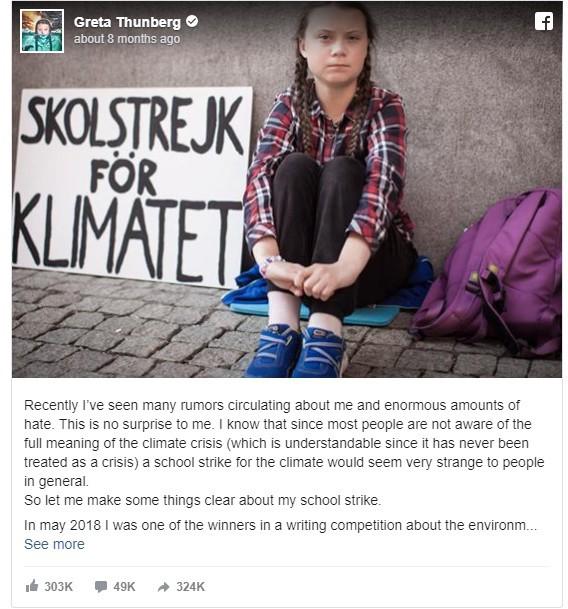 Sau báo Mỹ, đến lượt báo Úc nghi ngờ Greta Thunberg có đội ngũ PR chuyên nghiệp phía sau giúp tạo dựng tên tuổi và kiếm tiền trục lợi - Ảnh 9.