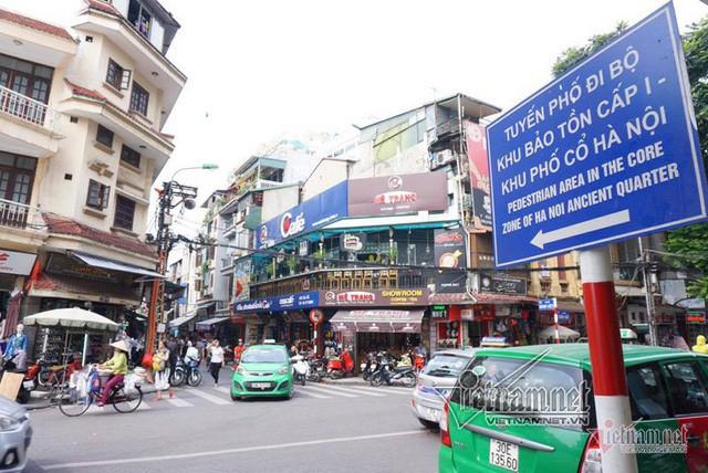 Hà Nội định cấm ô tô, xe máy quanh hồ Gươm trong 1 tháng  - Ảnh 1.