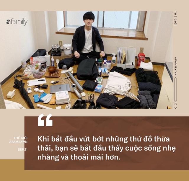 Triết lý sống tối giản của người Nhật: Học cách buông bỏ những thứ không cần thiết, càng đơn giản cuộc sống càng thanh thản - Ảnh 3.