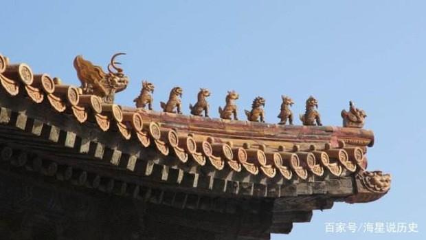 Cung điện Trung Hoa xưa thường dựng tượng quái thú trên mái nhà, ý nghĩa là gì? - Ảnh 2.