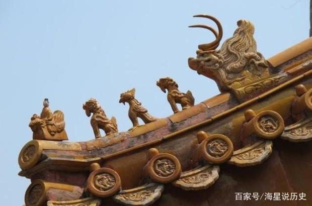 Cung điện Trung Hoa xưa thường dựng tượng quái thú trên mái nhà, ý nghĩa là gì? - Ảnh 5.