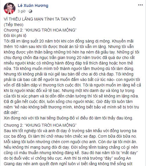 """Như lời đã hứa, NS Xuân Hương tiếp tục """"vạch trần"""" cuộc hôn nhân với MC Thanh Bạch: """"Nửa đêm anh gây chuyện để tránh việc chăn gối"""" - Ảnh 2."""