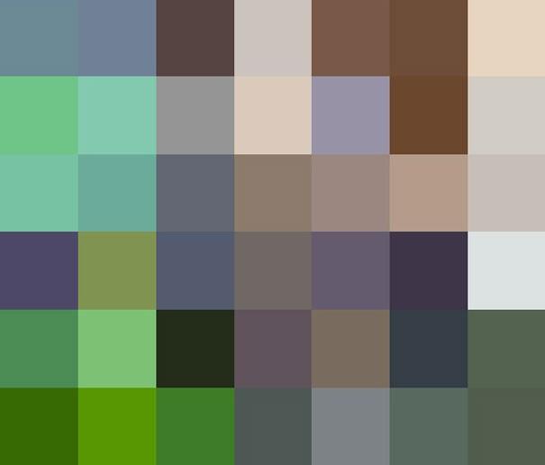 Sự thật đáng buồn về 22 bức tranh của các loài động vật có số lượng pixel tương ứng với số cá thể còn sống - Ảnh 2.