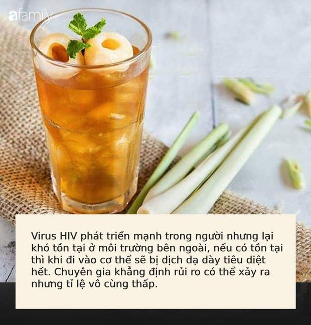 Uống cốc trà vải chứa băng keo cá nhân đã qua sử dụng, khách hàng phải dùng thuốc chống phơi nhiễm HIV: Bác sĩ nói gì? - Ảnh 2.