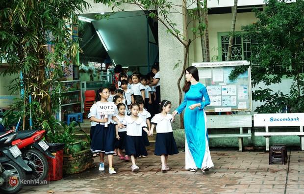 5 siêu nhân nhí trong ca sinh năm đầu tiên ở Việt Nam lém lỉnh ngày khai giảng: Xin chào lớp 1! - Ảnh 16.