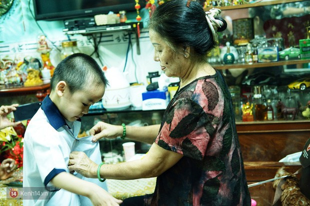 5 siêu nhân nhí trong ca sinh năm đầu tiên ở Việt Nam lém lỉnh ngày khai giảng: Xin chào lớp 1! - Ảnh 5.
