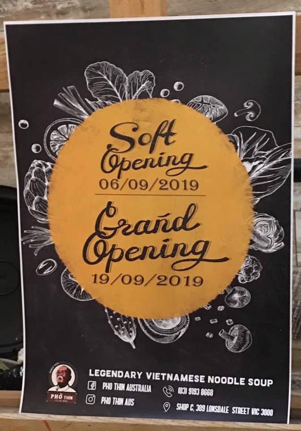 HOT: Ngày hôm nay (5/9), phở Thìn Lò Đúc chính thức khai trương cửa hàng ở Úc, thực khách đã rần rần rủ nhau đi thưởng thức từ 5 ngày trước - Ảnh 5.