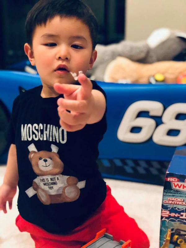 Con trai 2 tuổi của Đan Trường kiếm hơn 20 triệu một tháng gây 'choáng' - Ảnh 5.