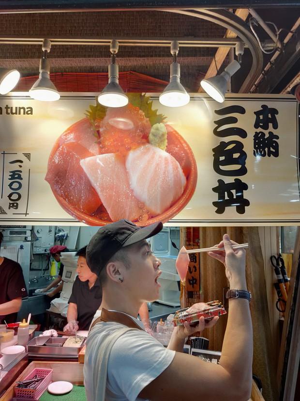 Ăn tinh trùng cá nhưng sai cách, anh chàng hot boy Việt Nam xấu hổ muốn độn thổ trên đất Nhật - Ảnh 1.